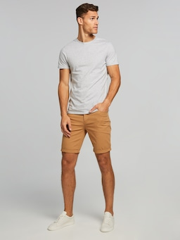 Riders By Lee Canvas Shorts In Dark Sand
