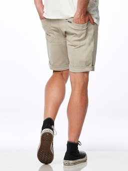 Riders By Lee Canvas Short In Stone
