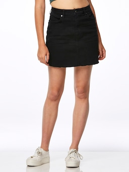 Riders By Lee Skirt Phase In Black