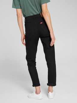 Riders By Lee Classic High Rise Slim In Flat Black