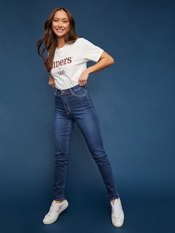 Riders By Lee Classic High Rise Slim In Indigo