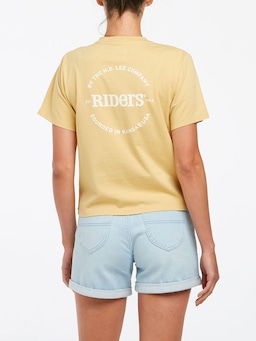 Riders By Lee Classic Tee Yellow Fade