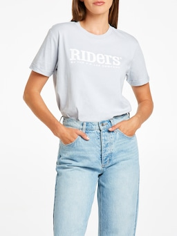 Riders By Lee Relaxed Tee Powder Blue