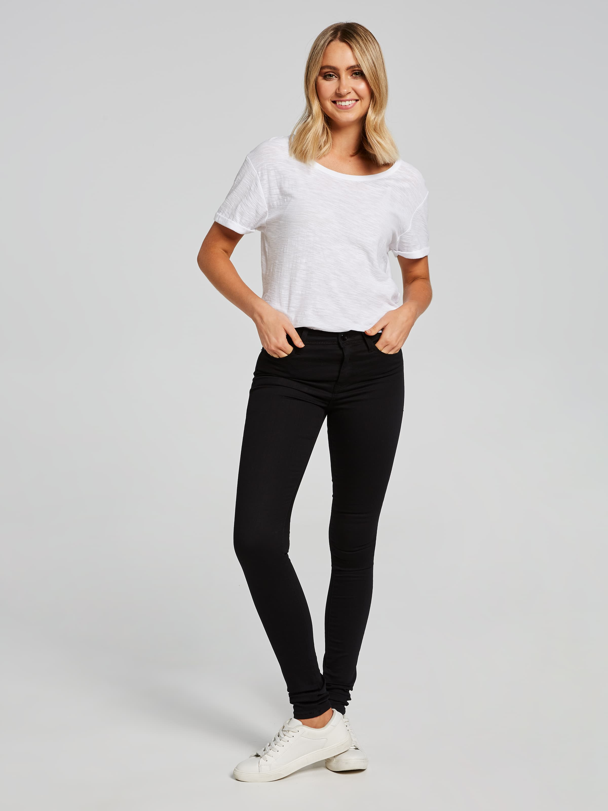... Image for Mavi Alissa Skinny Jean In Stay Black Gold Reform from Just  Jeans ...