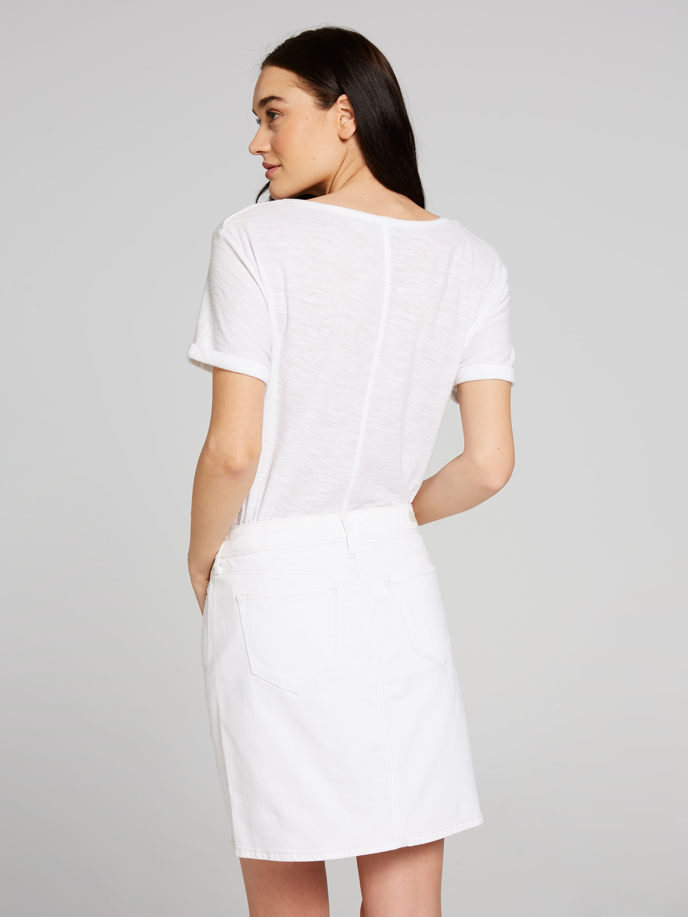 ... Image for Mavi Alice Skirt In White from Just Jeans ...