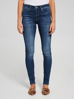 Mavi Alissa High Rise Skinny Jean In Dark Indigo Tribeca