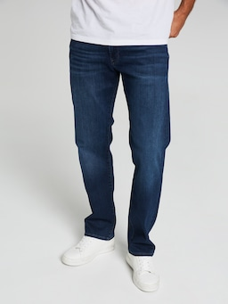 Mavi Hunter Straight Dark Blue Denim