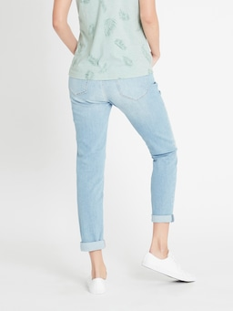 Mavi Emma Slim Boyfriend In Light Vintage Denim