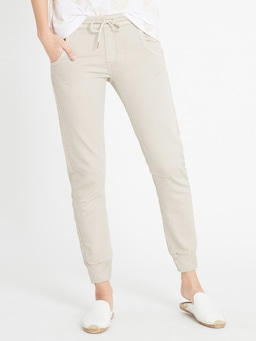 Mavi Holly Drawstring Pant In Cement
