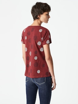 Mavi Romy Tee Mulberry Red