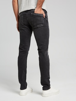 Mavi James Skinny In Smoke Black