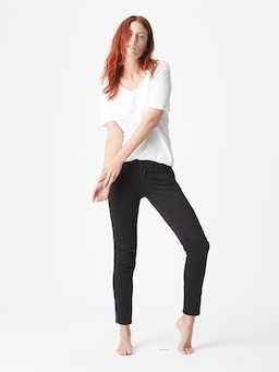 Mavi Low Rise Skinny In Black