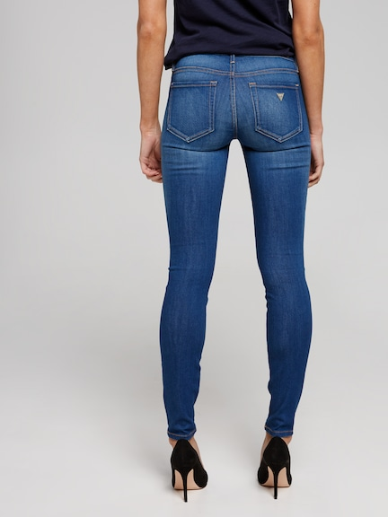 Guess Power Curve Mid Rise Skinny Jean In Chula