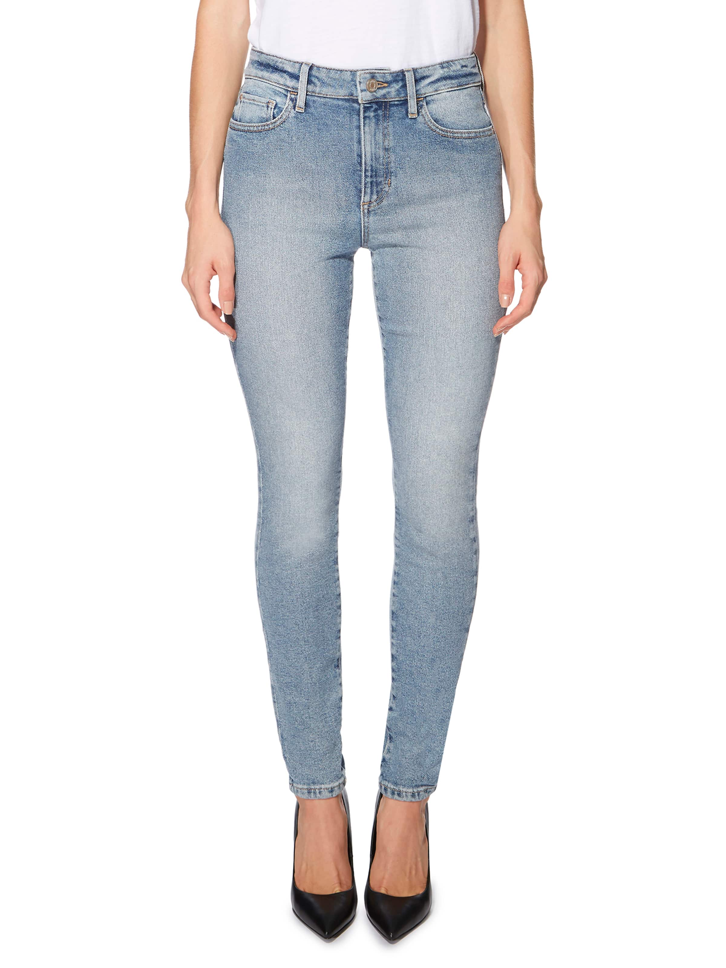 Just Jeans Guess 1981 High Rise Skinny In Beachside Wash 9387626