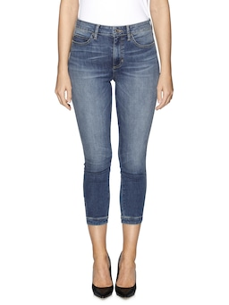 Guess 1981 High Rise Super Skinny In Costa Wash