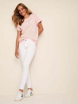 Guess Sexy Curve Skinny In White