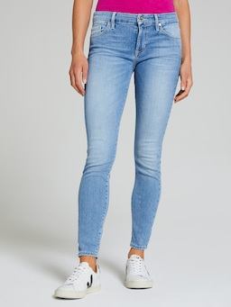Guess Power Curvy Mid Rise In Denim