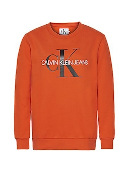 Calvin Klein Monogram Sweat Red