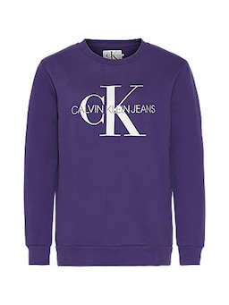 Calvin Klein Monogram Sweat Purple