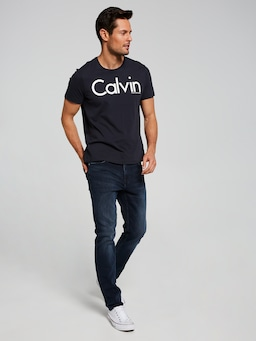 Calvin Klein Jean Slim In Boston Blue Black