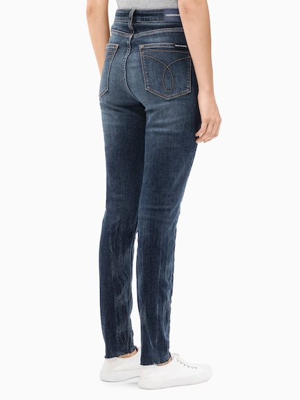 Calvin Klein High Rise Skinny In Day Division Raw