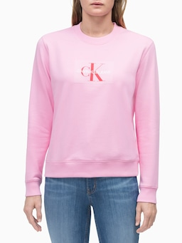 Calvin Klein Monogram Flock Sweat
