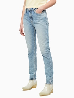 Calvin Klein High Rise Slim In Everest Blue