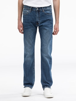 Calvin Klein Straight Jean In Molla Blue