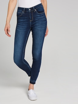 Calvin Klein Mid Rise Skinny Posey Blue