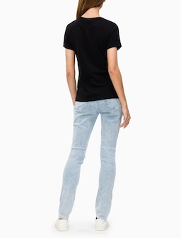 Calvin Klein Jeans 'I Love Ck' Tee In Black