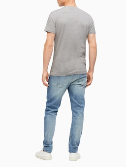 Calvin Klein Core Monogram Grey Tee