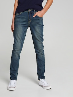 Boys Noah Knit Denim Slim Jean