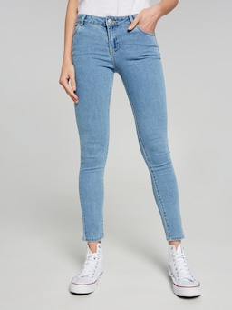 Girls Riders Spray-On Mid Rise Jean