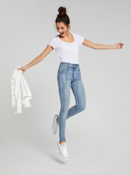 Girls Audrey High Rise Skinny Jean