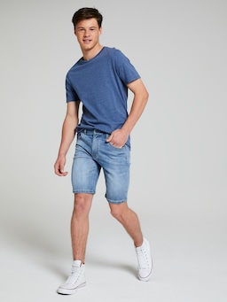 Boys Megaflex Slim Denim Short