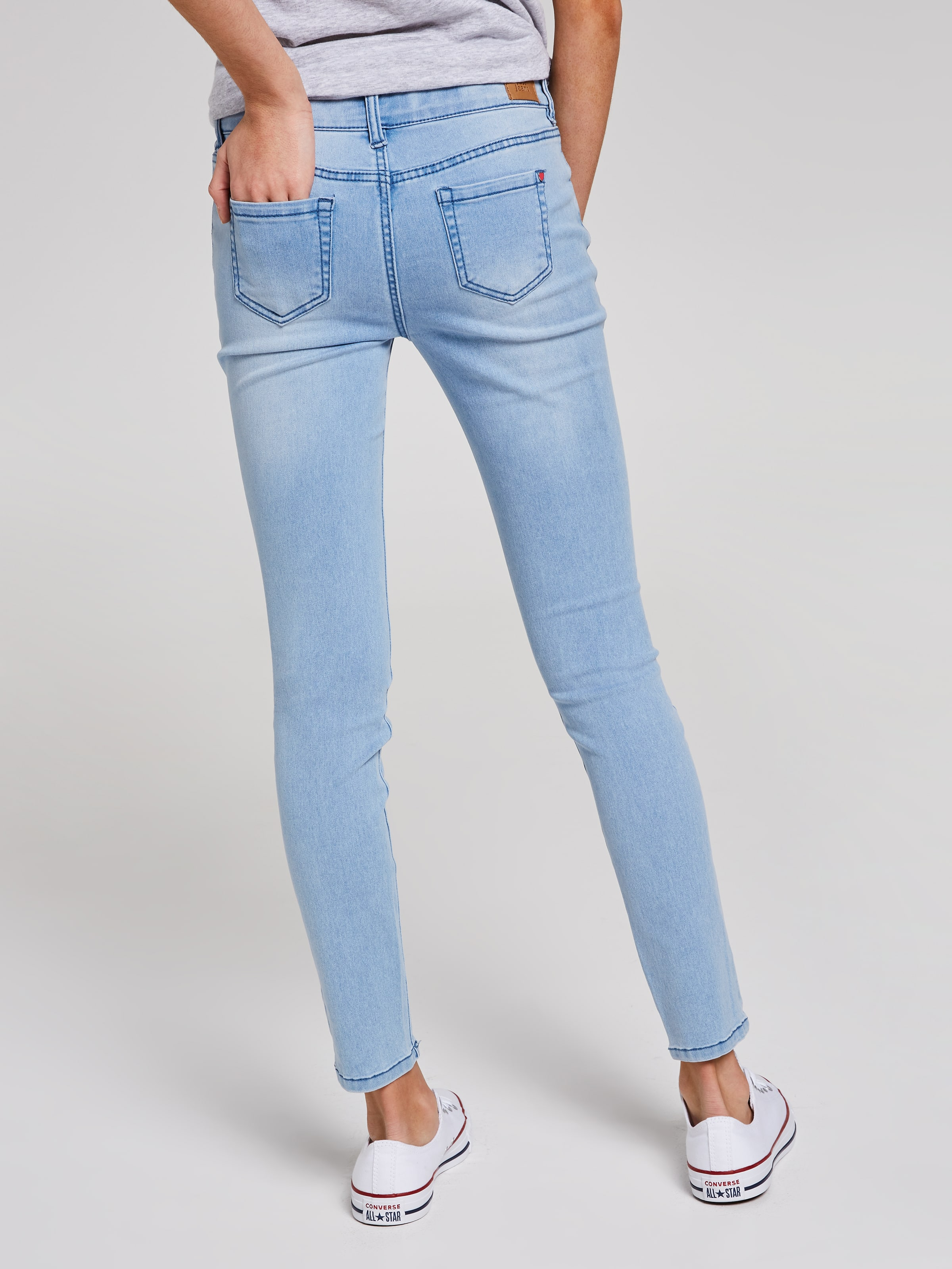 e456aa8019e ... Image for Girls Kylie Luxe Mid Rise Skinny Jean from Just Jeans ...