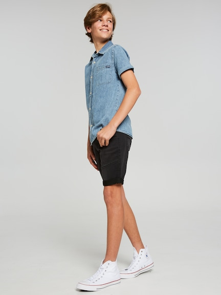 Boys Riders Denim Jogg Short