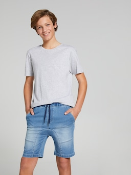 Boys Grayson Knit Denim Short