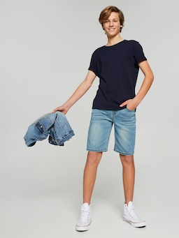 Boys Aaron Slim Denim Short