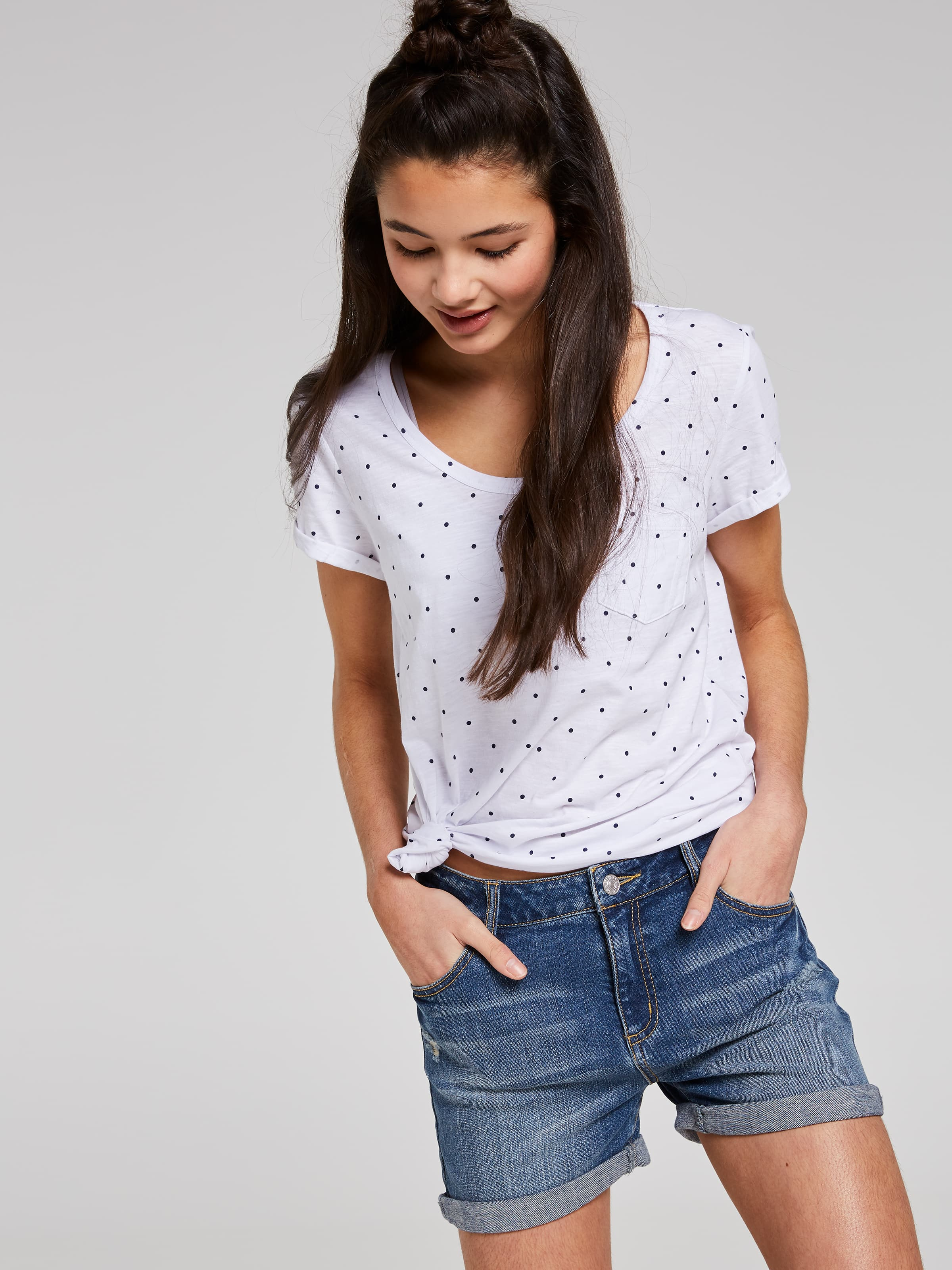 Just Jeans Girls Grace Relaxed Short 9111524