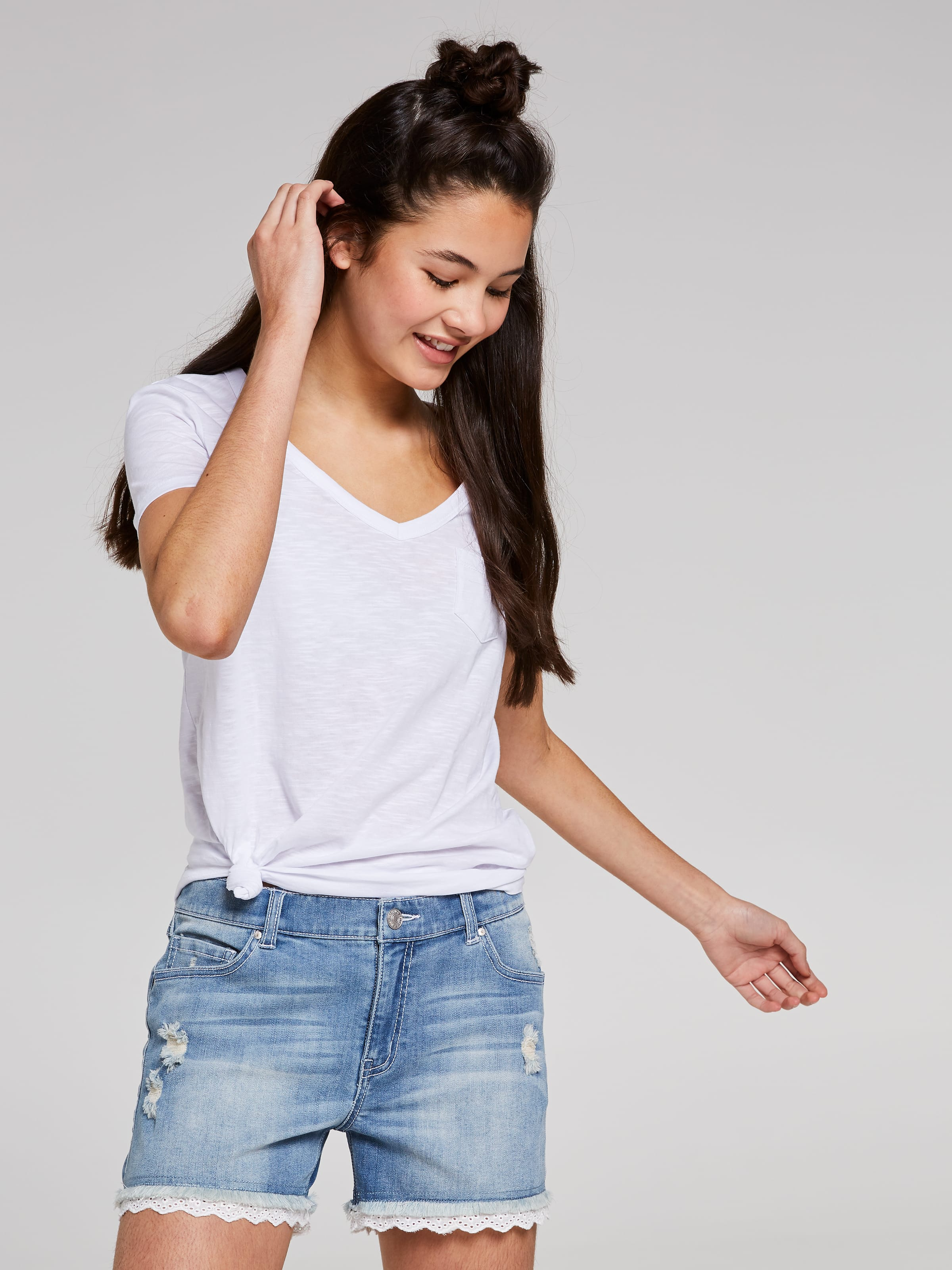 Just Jeans Girls Mila Lace Short 9178056