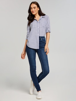 Amaze Extra High Rise Full Length Skinny Jean