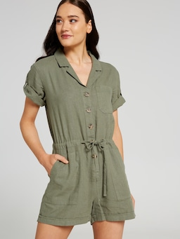 Hayley Utility Playsuit