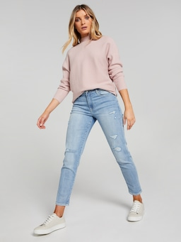 Ruby Ripped M/R Boyfriend Jean
