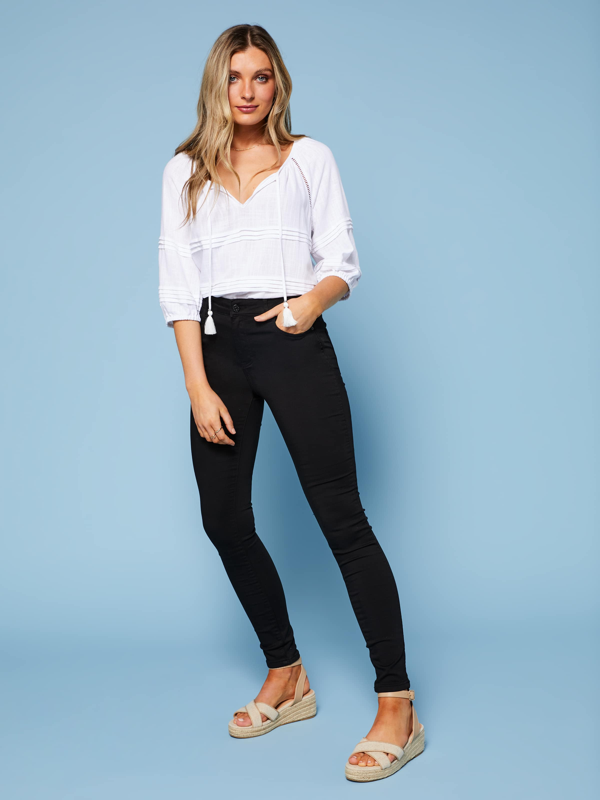 Image of Just Jeans Amaze High Rise Skinny Full Length Jean