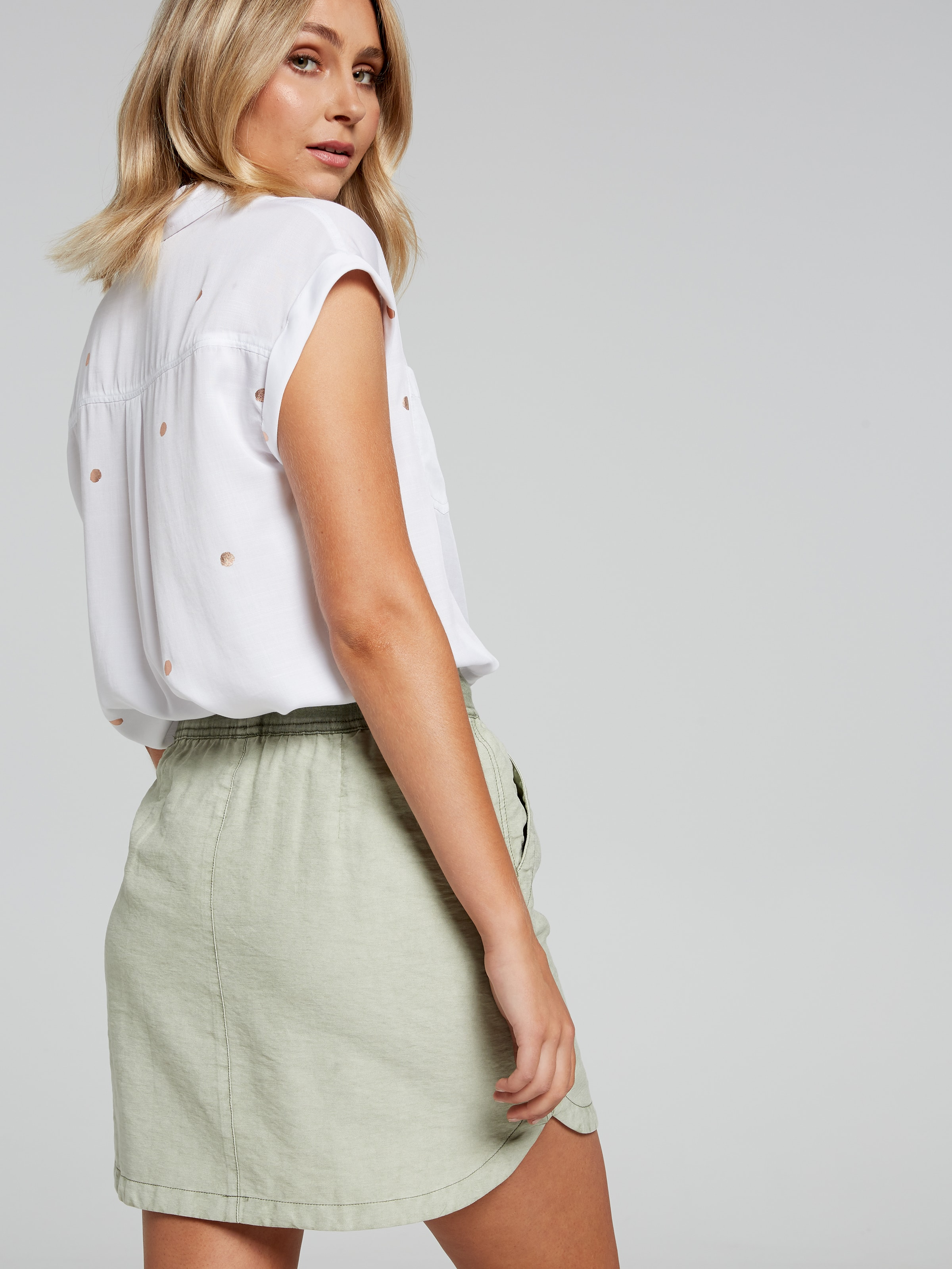 443907e17af ... Image for Lauren Rib Soft Skirt from Just Jeans ...