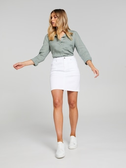 Minna Classic Denim Skirt