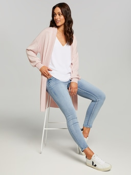 Poppy Drop Shoulder Cardi