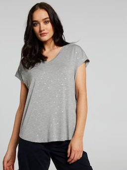 The Luxe V-Neck Tee