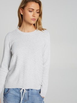 Tilda Hi Lo Scoop Hem Knit
